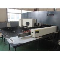 Quality High Accuracy Manual CNC Punch Press Machine With Siemens Servo Drive System for sale