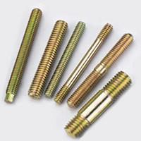 Quality Brass Studs, DIN Steel Double End Stud, Precision Hardware Parts M2.5 - M24 for sale