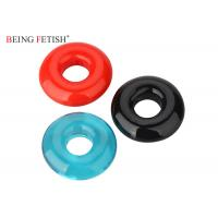Quality Super Screaming Stretchy Silicone Pleasure Ring O Ring Vibrator With Assorted Colors for sale