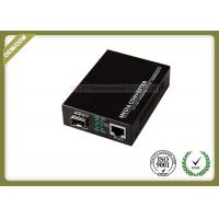Gigabit 10/100/1000M Fiber Optic Media Converter with SC or SFP Port with 20~80km
