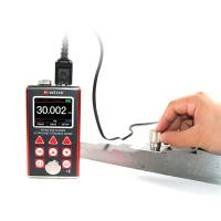 Quality Extruded Aluminum Digital Ultrasonic Thickness Gauge Equiped With Bluetooth Printer MT660 for sale