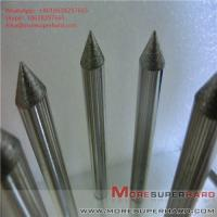 Quality Carbide processing by electroplating diamond grinding head Alisa@moresuperhard.com for sale