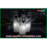 Quality 1.5m OXford Cloth Halloween 3 Ghost Inflatable Lighting Decoration Waterproof for sale