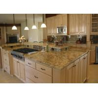 China Modern Luxury Polish / Honed Marble Kitchen Countertops With Ceramic Sink on sale