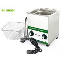 Quality 60W 40kHz Laboratory Ultrasonic Cleaner 2L , Ultrasonic Extraction Equipment for sale