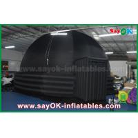 Quality 2 Doors Inflatable Mobile Planetarium Dome Projection Tent For Movie Education for sale