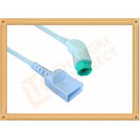 Quality Flexibility 10 Pin IBP Cable Utah For Hellige 5th Generation Monitor for sale