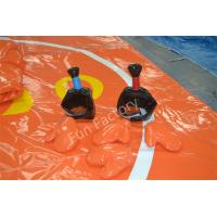 Kids And Adults Inflatable Sports Games Sumo Wrestling Orange