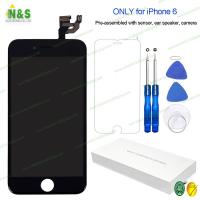 China 1334*750 Apple Iphone 6 LCD Repair Replacement Screen Black Display Digitizer Assembly 4.7 on sale