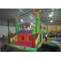 Quality Inflatable Parcours Zoo animals Insane inflatable obstacle course sessions wildlife park inflatable obstacle courses for sale
