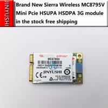 Buy cheap MC8795V Sierra Wireless Mini Pcie HSUPA HSDPA 3G quad-band module from wholesalers