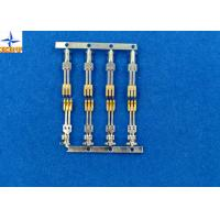 Buy brass material Gold - Plated Signal Wire To PCB crimp Connectors terminals with at wholesale prices