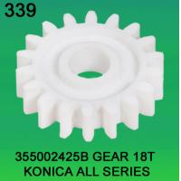 Quality 355002425B / 3550 02425B GEAR TEETH-18 FOR KONICA ALL SERIES minilab for sale