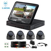 Quality 4CH DOME 720P AHD camera kits with 10 inch LCD screen AHD DVR 3 IN ONE for sale