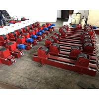 Quality Conventional Tank Turning Rolls , 5 Ton Welding Rotator Stands Lead Screw Adjustment for sale