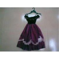 Buy Purple Graceful Dance Performance Costumes for Kids at wholesale prices
