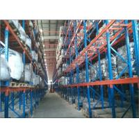 Quality Metal Heavy Duty Double Deep Pallet Racking Systems loading Capacity 500-5000KG/Level for sale