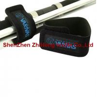 Waterproof Diving fabric cable tie binding straps / fiber cable ties for sale