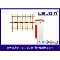 China Remote Control Parking Barrier Gate Electronic Boom Barrier Bi-direction Passing on sale
