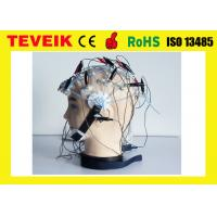 Quality Separating Rubber EEG hat, Silver plated copper electrode,20 leads, without EEG cable for sale