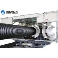 China Double Wall Corrugated Pipe Extrusion LineSBG800 ID500-800MM For HDPE/PP on sale
