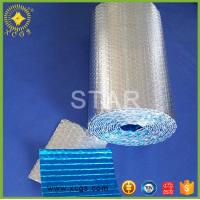 Buy cheap Aluminum foil bubble heat insulation with woven cloth / Reinforced Heat Insulation Material from wholesalers