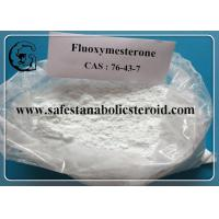Quality Fluoxymesterone Oral Anabolic Steroids Muscle Building Steroids CAS 76-43-7 Assay 99% for sale