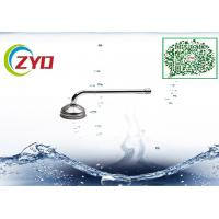 Quality 16mm 201 Stainless Steel Wall Mounted Swing Shower Facuet Spout Accessory Less PB Rotatable Chrome Faucet Water Tube for sale
