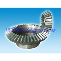 Quality Heavy Duty Straight Bevel Gear Wheel , Cylindric Spur Straight-Tooth Gears for sale