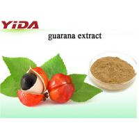Quality Natural Weight Losing Raw Materials Brown Guarana Extract Powder From Seed for sale