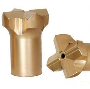Precision Diameter 38mm Rock Drill Steel And Bits Ballistic Button Shape