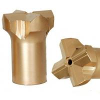 Buy Precision Diameter 38mm Rock Drill Steel And Bits Ballistic Button Shape at wholesale prices