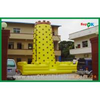 Quality Big Funny High Quality Climbing Wall Inflatable Water Toy For Fun for sale