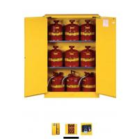 Quality Horizontal Petrol Drums Storage Cabinets Double Door For Storing 55 Gallon Drum for sale