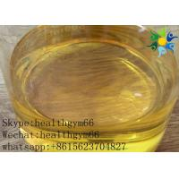 Buy Healthy Yellow Liquid Tren Ace Injectable Anabolic Steroids Trenbolone Acetate 100MG/ML at wholesale prices