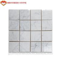 Construction Material Carrara White Marble Cut To Size For Home Decoration for sale