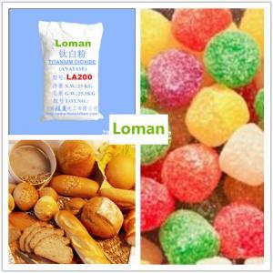 China Anatase Titanium Dioxide Loman Brand LA200 for High Grade Product on sale