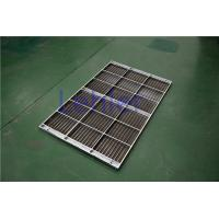 Quality Stainless Steel Column Internal Trays , Dewatering Wedge Wire Support Grid for sale