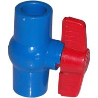 Compact 1/2 ~ 4  True Union Plastic PVC Ball Valve Floating For Water Supply for sale