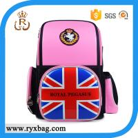 China PU Stylish UK Flag print backpack bags back to school Collection on sale