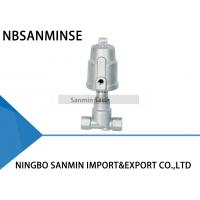 China JDF800 Pneumatic Angle Seat Valve , Right Stainless Steel Angle Valve on sale