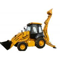 Quality 2.5T Front End Mini Backhoe Loader Walking Steadily With Digging Bucket for sale