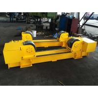 Quality ABB Motor 20T Conventional Pipe Roller Stands, 20T  Pipe Welding Rotator Bolt Adjustment for sale