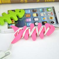 Buy Colorful Households Products Earphone Line Twister Fishbone Cable Holding Management at wholesale prices