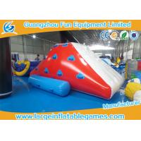 Quality Funny Inflatable Water Park Games , Iceberg Inflatable Water Toy Sports Game for sale