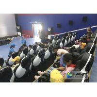 Buy 24 Seats 5D Theater System With Electric Motion 5D Chair Play Roller Coaster Film In Mall at wholesale prices