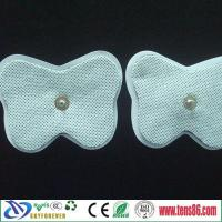 China 7.5X5cm Butterfly Non-woven Electrodes pads on sale