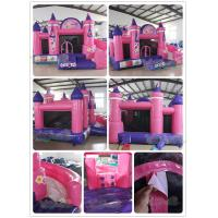 Quality Princess Inflatable Castle Bouncer Combo for sale