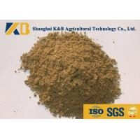 Buy Full Fat Fish Meal Fertiliser / Fish Protein Content Promote Animal Growth at wholesale prices