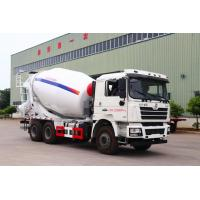 Quality SHACMAN-HUAYI Second Hand Cement Mixer , Used Cement Mixer Truck 6X4 Drive Form for sale